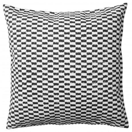 Чехол на подушку ЮППЕРЛИГ черный/белый фото 0