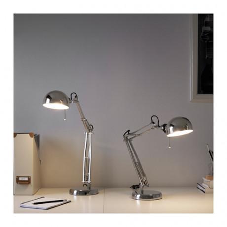 Лампа рабочая ФОРСО никелированный фото 2